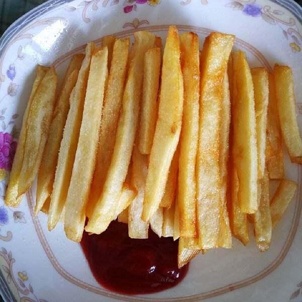 美味自制炸薯条