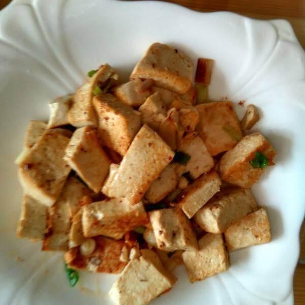 素炒豆腐泡
