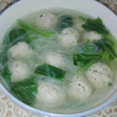 丸子粉丝汤