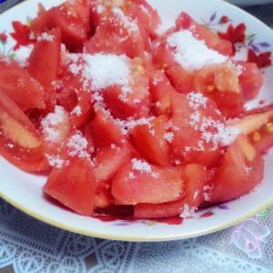 柿子拌白糖
