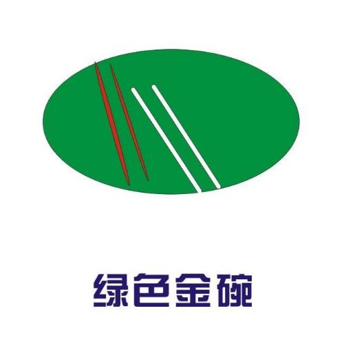 绿色金碗快餐