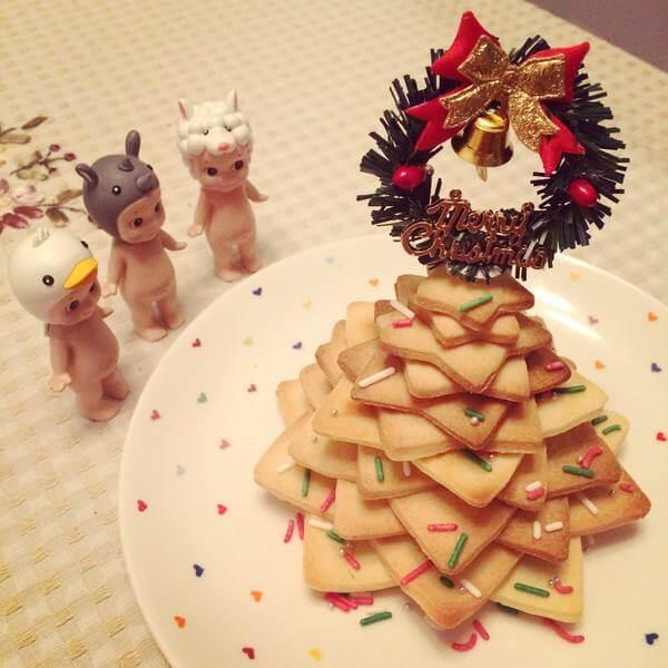 饼干圣诞树