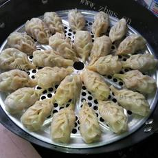 洋葱牛肉蒸饺