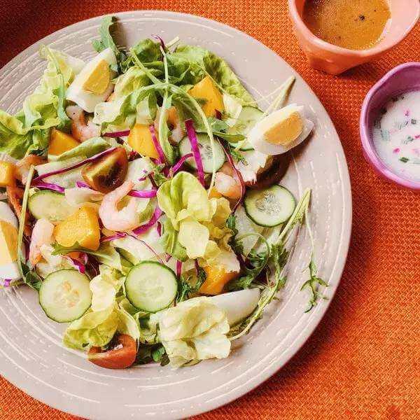 美式健康沙拉