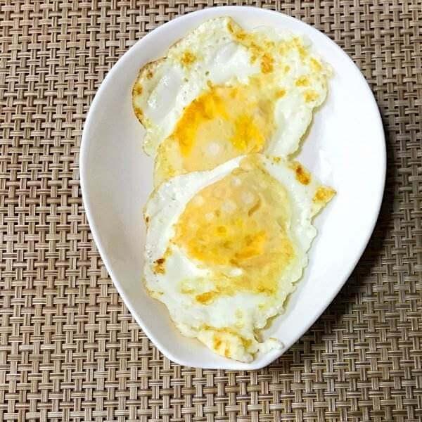 微波炉版荷包蛋