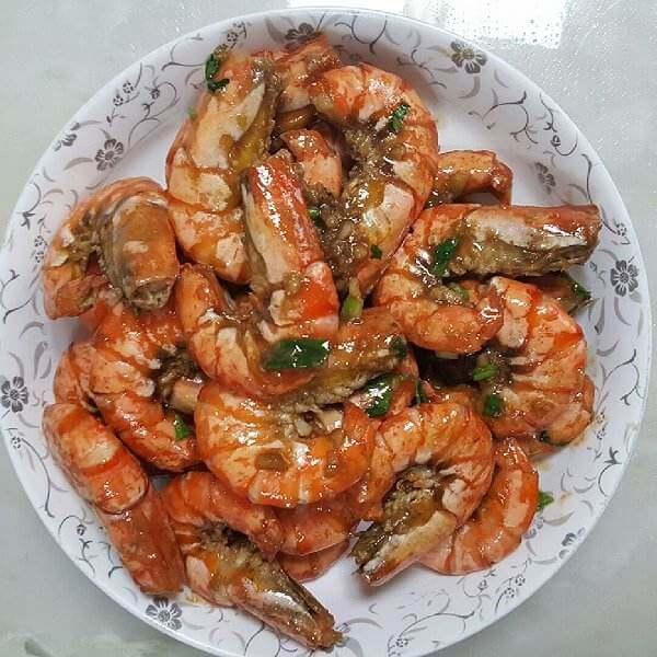 香辣美极虾