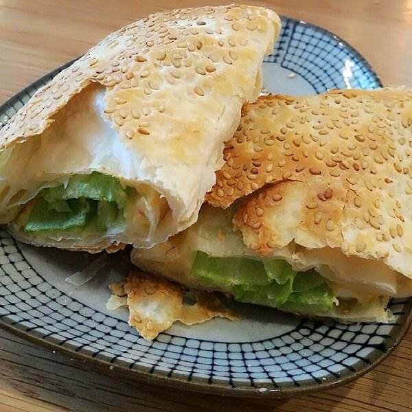 烧饼三明治