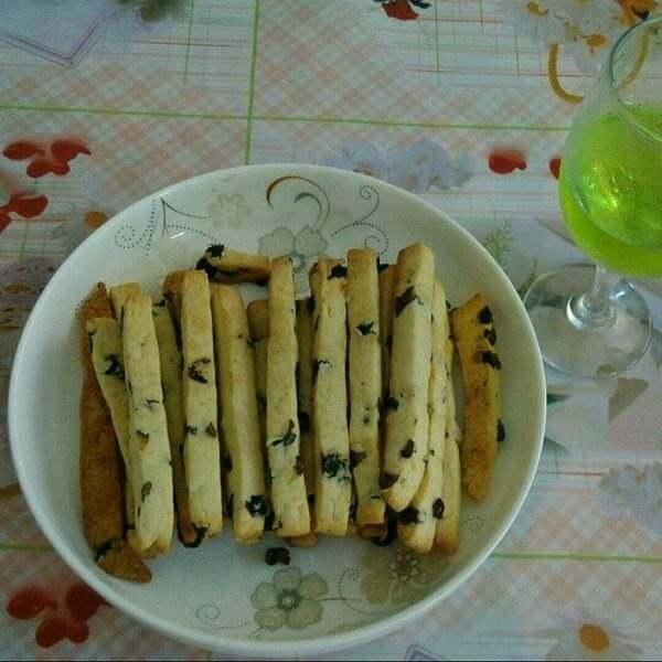 香酥提子条饼干