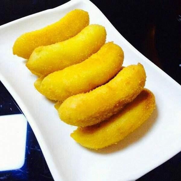 薄荷橄榄炸香蕉
