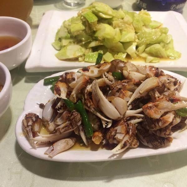 姜葱炒蛤蜊