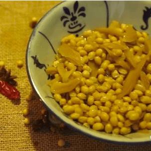 潮汕菜脯黄豆