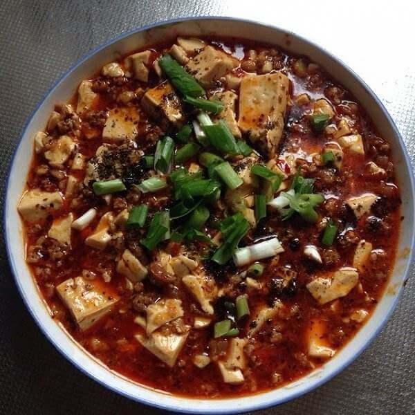 麻婆肉末豆腐