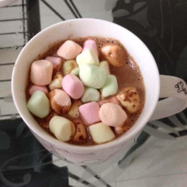 棉花糖水果球