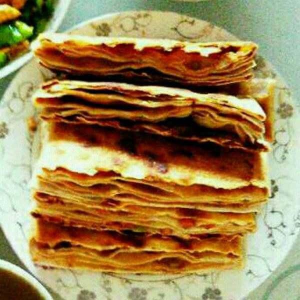 酥香小葱千层饼