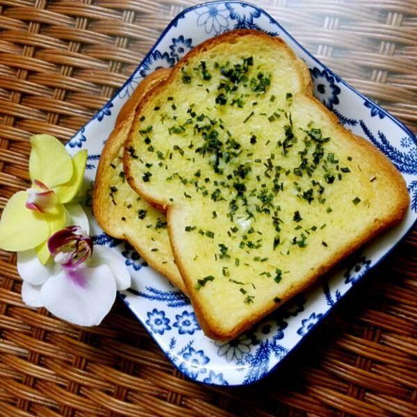 橄榄油蒜香小饼