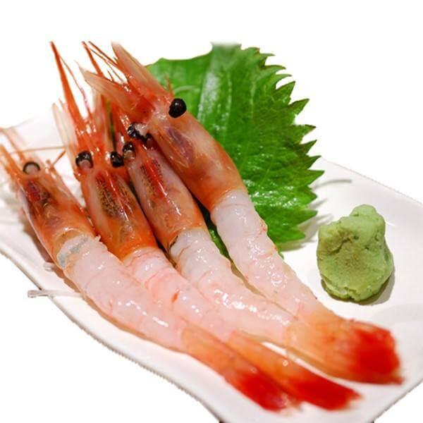 骨肉相连烤野生北极虾
