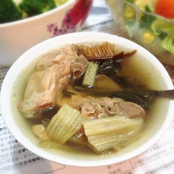 白菜马蹄猪骨汤