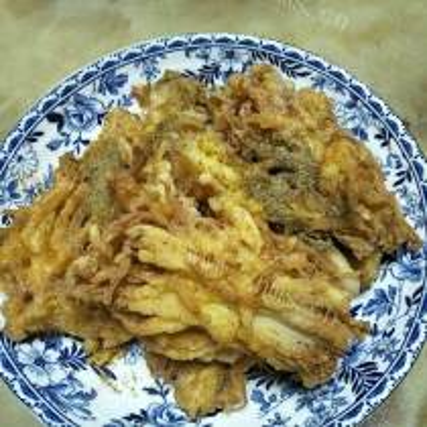 金针菇橙味鱼卷