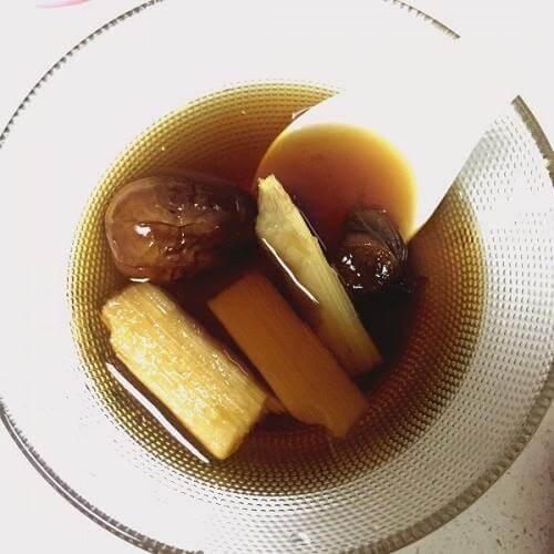 甘蔗木瓜猪蹄汤