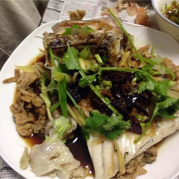 梅菜蒸鱼腩