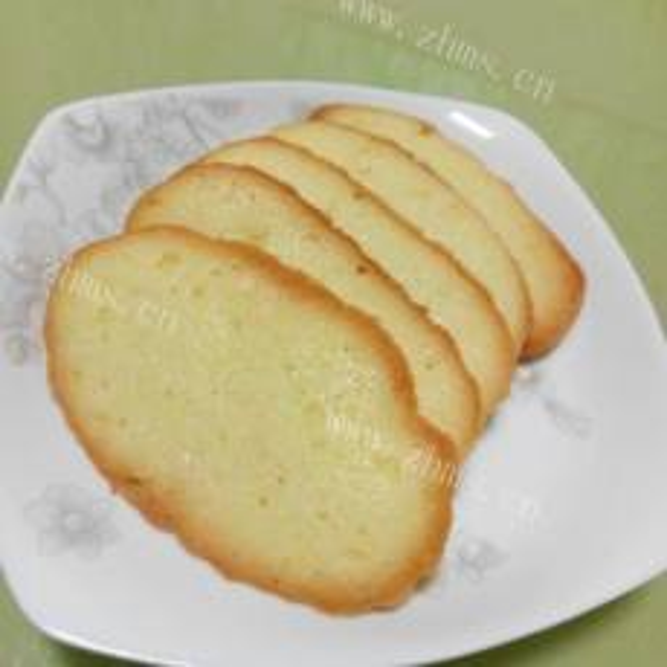 香橙薄脆饼