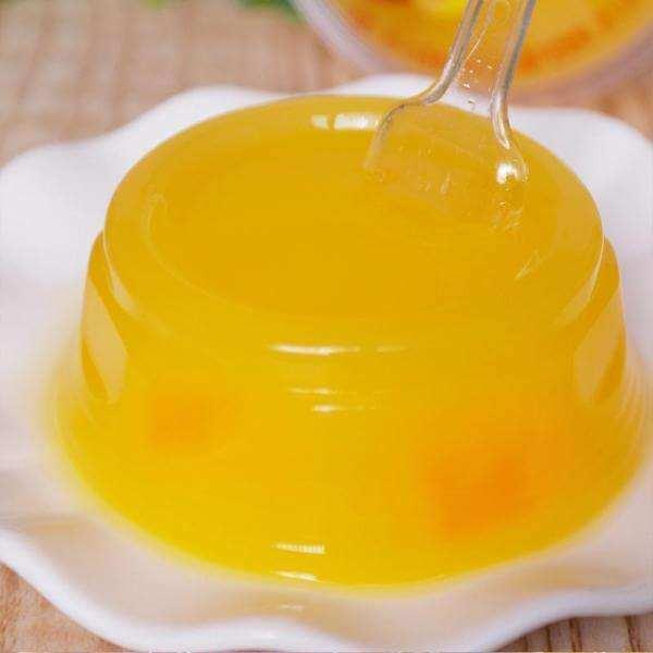 甜橙水果果冻