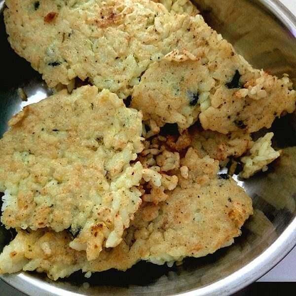 玉米粒青豆海苔饼