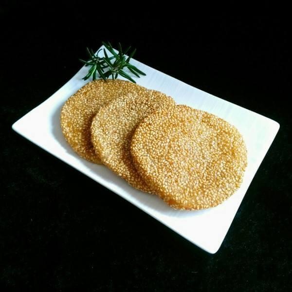 杏仁芝麻饼