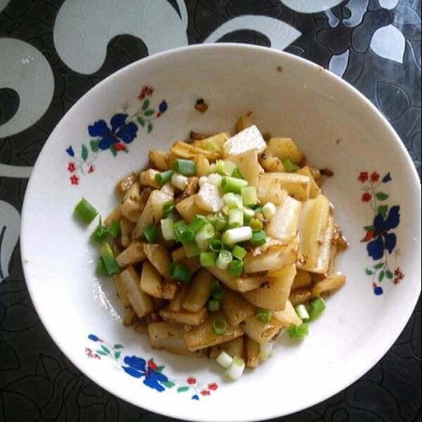 菜藕丁虾皮