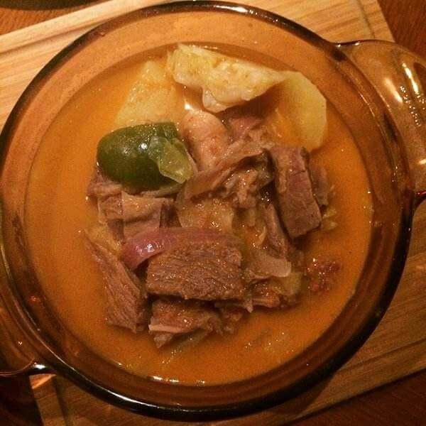 泰式咖喱牛腩煲