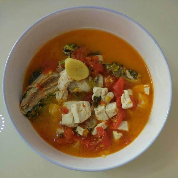 番茄豆腐黄骨鱼汤