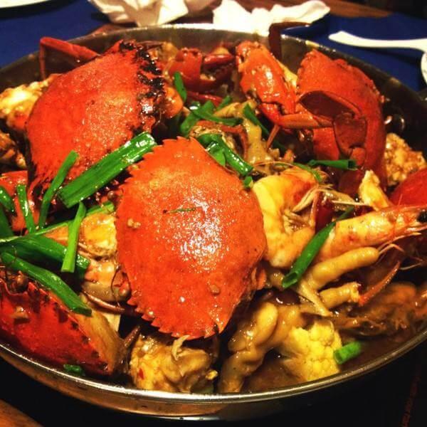 豉汁木瓜炆蟹