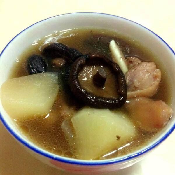 猴头菇江鸭汤