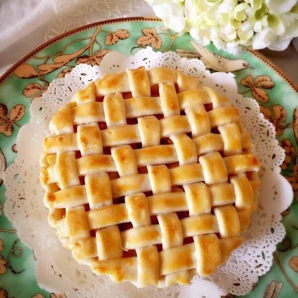 土司面包—简单苹果派