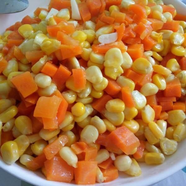 酸甜玉米小萝卜