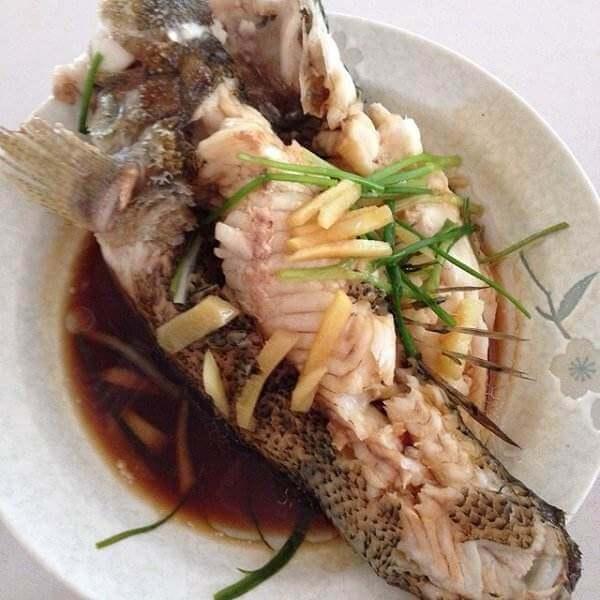 清蒸笋鲈鱼