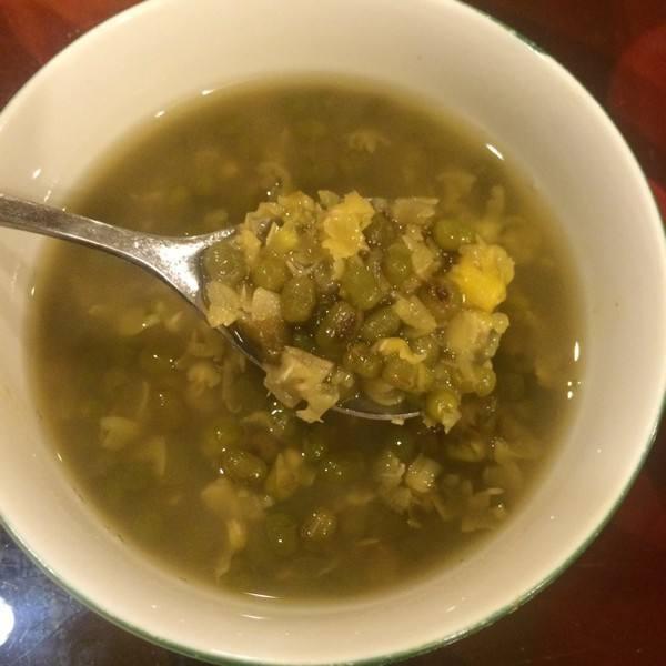 清凉消暑绿豆汤