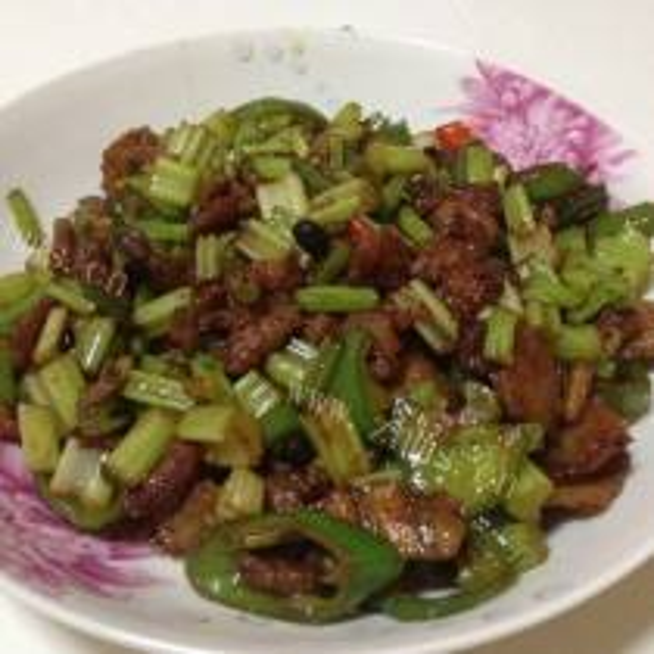 小炒肉拌饭