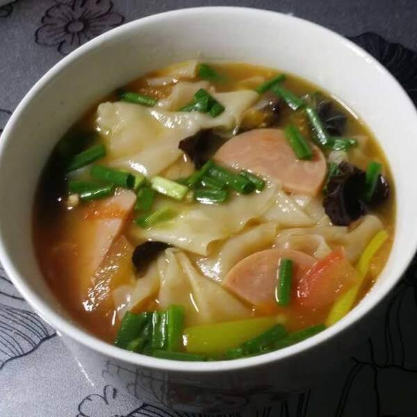 三鲜瘦肉北芪汤