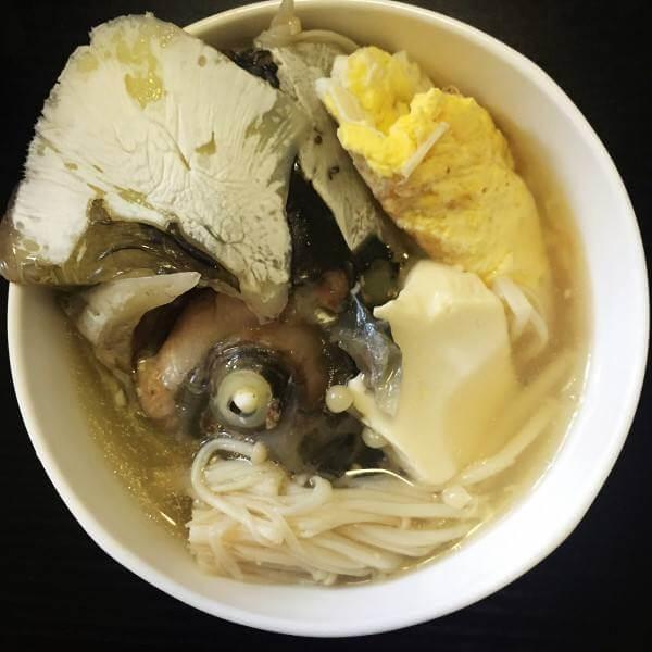 南瓜豆腐鱼头汤