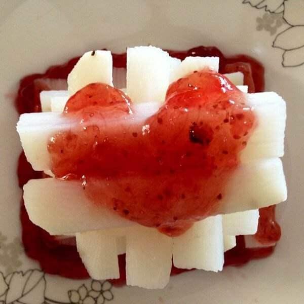 山药草莓淡奶