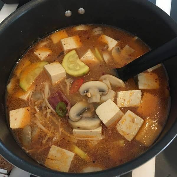 土豆排骨酱汤