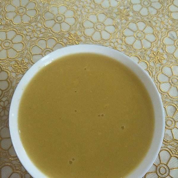 南瓜绿豆米糊