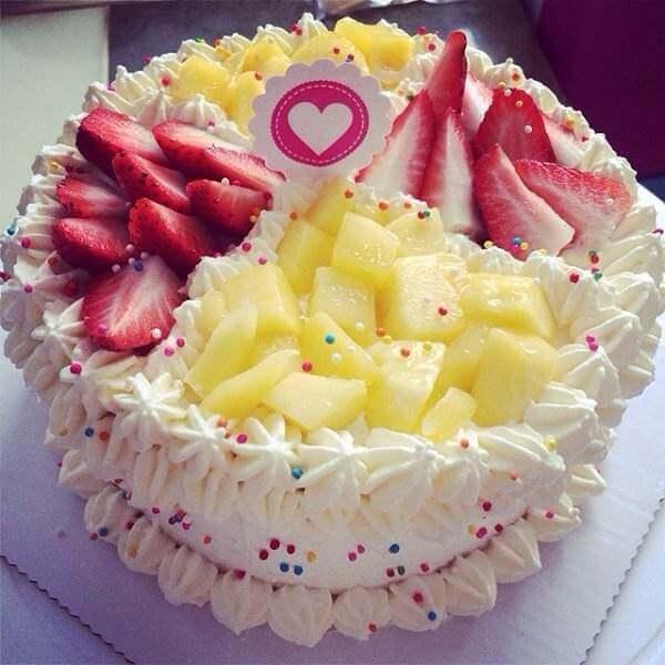 生日裱花蛋糕