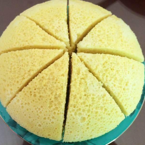 中式蒸蛋糕