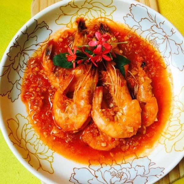 茄汁开胃虾