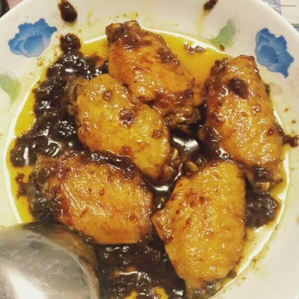 黄金咖喱鸡翅