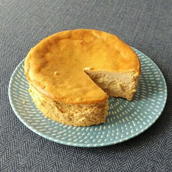 美白版焦糖奶酪蛋糕