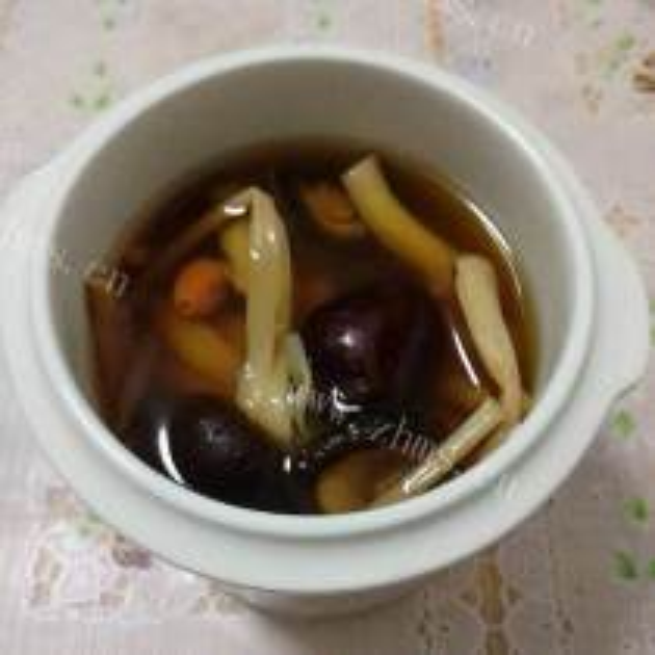 菌菇牛髓汤