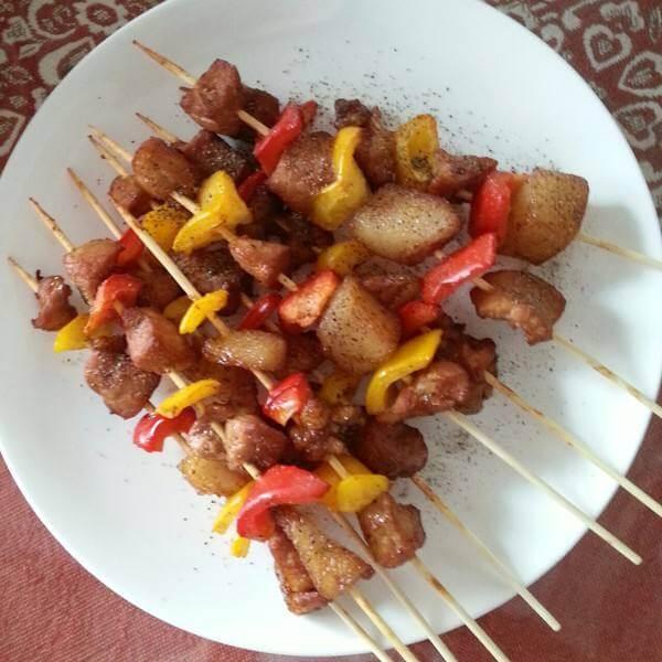 什锦烤肉串
